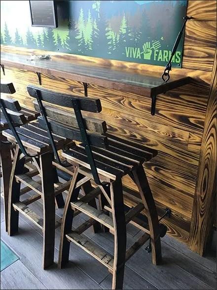 Viva Farms Turnbuckle Table Support