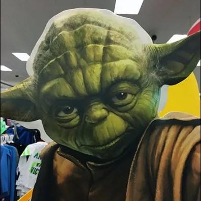 Yoda Foamcore Stare Down 1