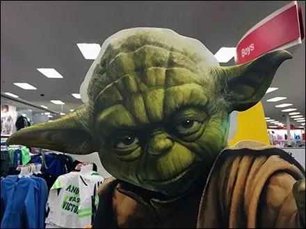 Mystic Yoda Stare Down Via Foamcore