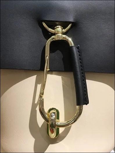 Zac Posen Carabiner Clip Purse Clasp