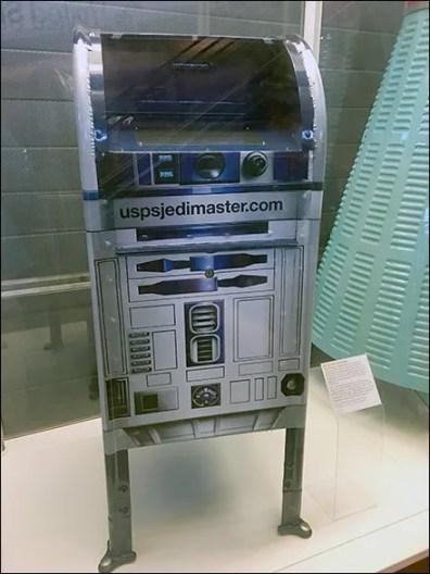 United States Postal Service R2D2 Mailbox