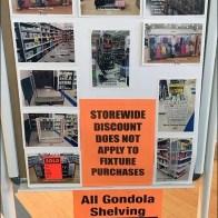 Storewide Fixture Sale Photo Montage