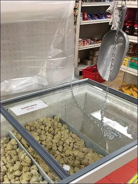 Russian Dumpling Bulk Serve Coffin Case Cooler