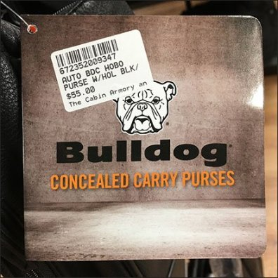 Concealed Carry Purses for Gun Toting Mamas Bulldog Logo