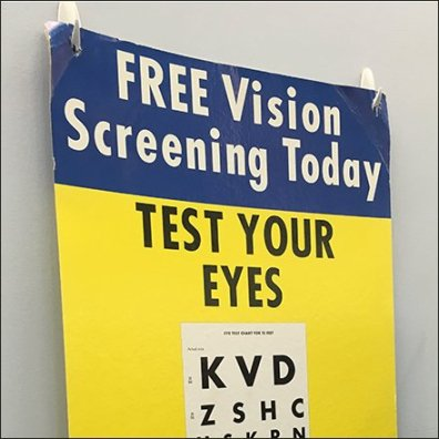 Do-It-Yourself In-Store Vision Test
