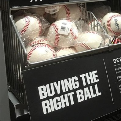 Buy The Right Baseball Gravity Feed Dispenser
