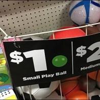 Inline Gondola Ball Bulk Bin Saves Space
