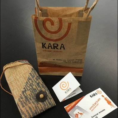 Kara Silver Salon Branded Gift Bag