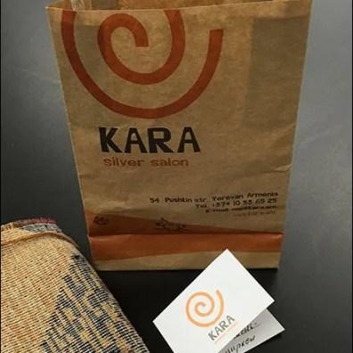 Kara Silver Salon Branded Gift Bag