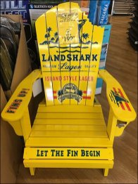 Land Shark Adirondack Chair Advertising 2