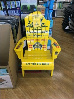 Land Shark Adirondack Chair Advertising 3