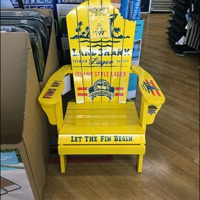 Land Shark Adirondack Chair Advertising 3