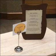 Nordstrom Cafe Sante Fe Vegetables Tall Sign Clip
