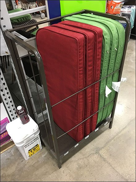 Floor Rack Choice of Patio Furniture Pad