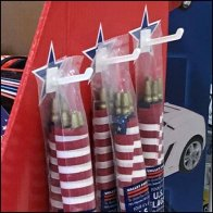 Patriotic Americana Corrugated Display Hooks