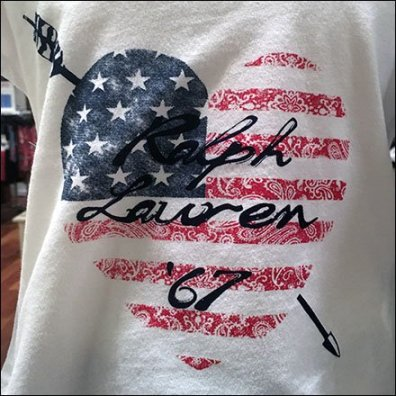 Polo Ralph Lauren Loves America 1967 Branding