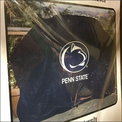 Support Your Team Collegiate Grill Cover