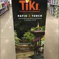Upscale Tiki Patio Torch Pallet Merchandising
