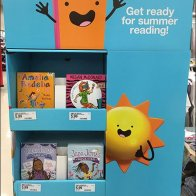 Get Ready For Summer Reading Book Tower