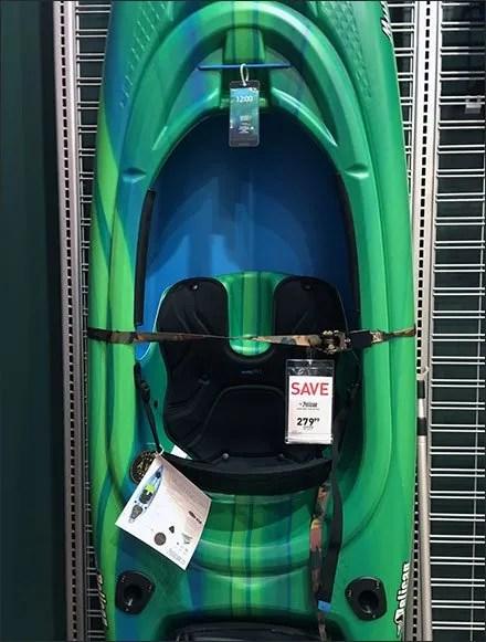Kayak Lifejacket Slatwire Cross Sell 1