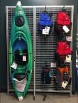 Kayak Lifejacket Tubular Slatwire Faceouts