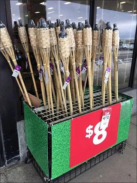 Leftist Leaning Tiki Torch Merchandising