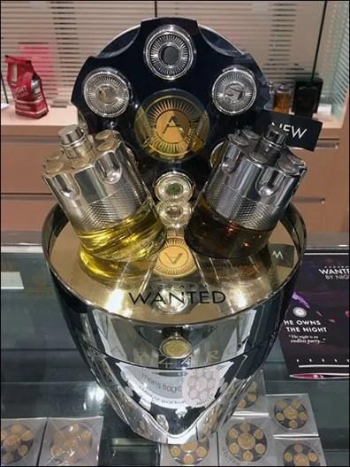 Azzaro Wanted Champagne Bucket Display