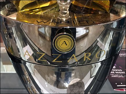 Azzaro Wanted Champagne Bucket Display