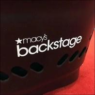 Macys Branded Shopping Basket