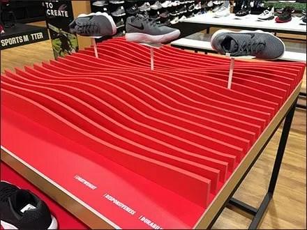 Nike React Table-Top Terrain Display