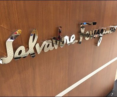 Mirror Finish Salvatore Ferragamo Signature Branding