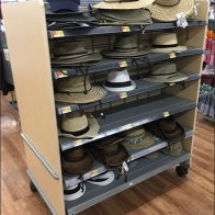 Summer Hat Sales On A Mobile Island