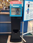 Self Service Kiosk For Merchandise Pick Up