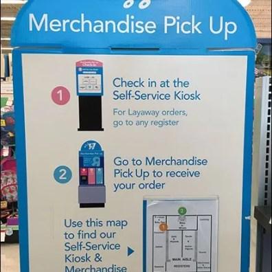 Self Service Navigation to Self Service Kiosk