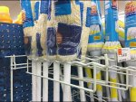 Undulating Mop Hooks and Broom Hooks Ganged