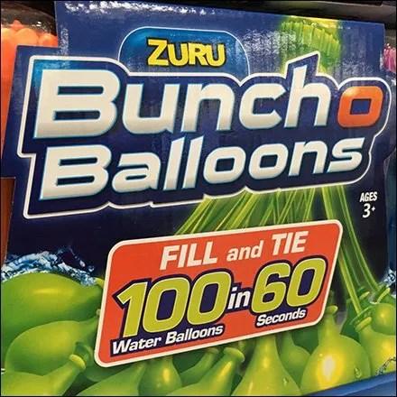 Water Balloon Mass Merchandising by Pallet