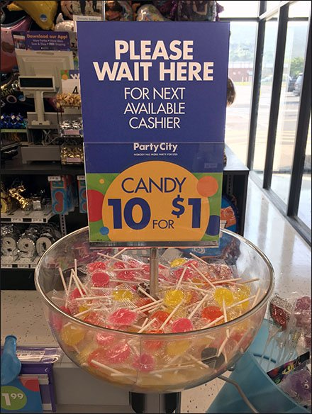 Please Wait Here For Next Cashier Plea