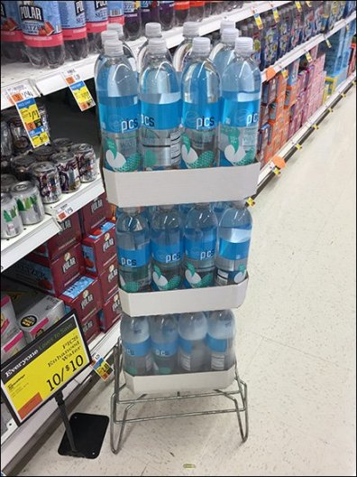 All Wire Dunnage Rack For Bottled Water