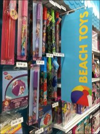 Beach Toy Display Category Definition