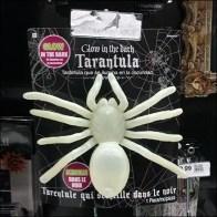 Carded Tarantula Scan Hook Merchandising