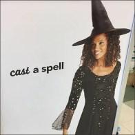 Halloween Fabrics Cast A Spell Poster