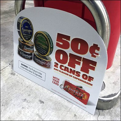 50C Off Gas Pump Island Starting Gate Promotion