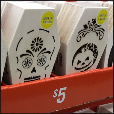 Halloween Coffin Merchandising En Masse