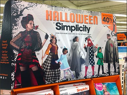 Halloween Costume Simplicity Sewing Pattern