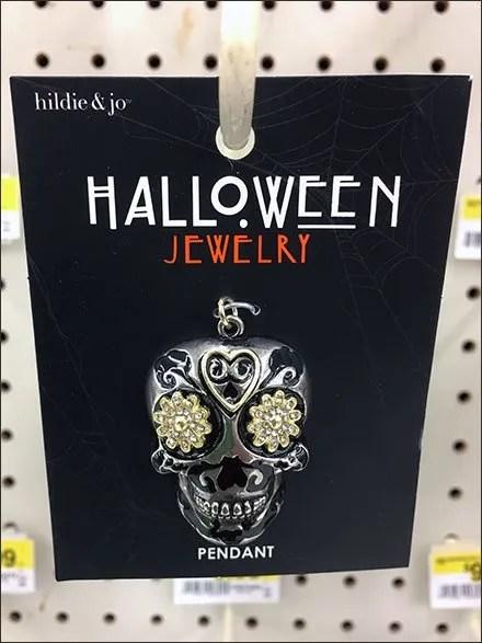 Halloween Jewelry Hook Staging Area