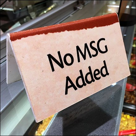 Does Chinese Food Have Too Much MSG?