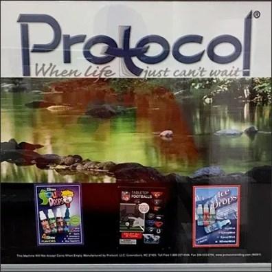 Restroom Vending Machine Merchandising