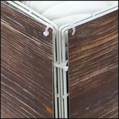Open Wire Bulk Bin Disguised As Wood Crate