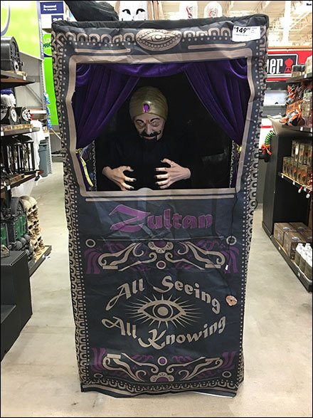 All Seeing, All Knowing, Retail Fortune Telling