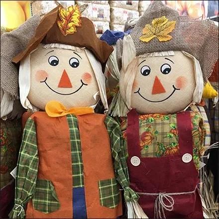 Scarecrow Military Square Massed Merchandising